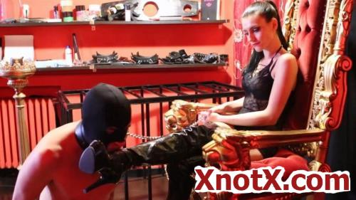 Boot Domination And Fresh Slave's Milk / Mistress Iside / 13-08-2019 [FullHD/1080p/MP4/327 MB] by XnotX