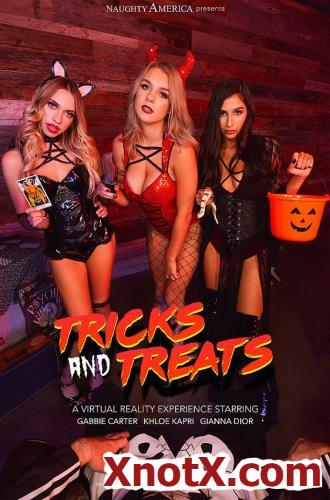 Tricks and Treats / Gabbie Carter, Gianna Dior, Khloe Kapri / 01-11-2019 [3D/UltraHD 2K/1440p/MP4/6.25 GB] by XnotX