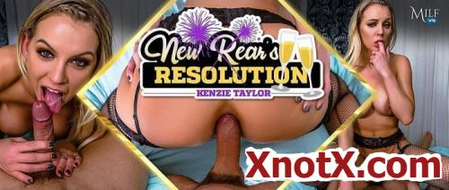 New Rear's Resolution / Kenzie Taylor / 29-01-2020 [3D/UltraHD 2K/1920p/MP4/11.0 GB] by XnotX