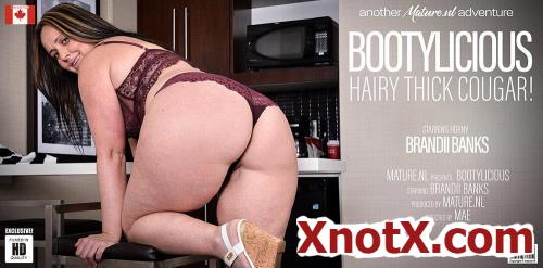 Brandii Banks (43) / Thick Brandii Banks with her hairy pussy has a booty to die for (FullHD/1080p) 04-03-2021